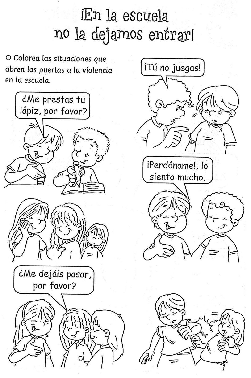 Archivo De álbumes Convivencia En La Escuela Actividades De Convivencia Educación Para La Paz
