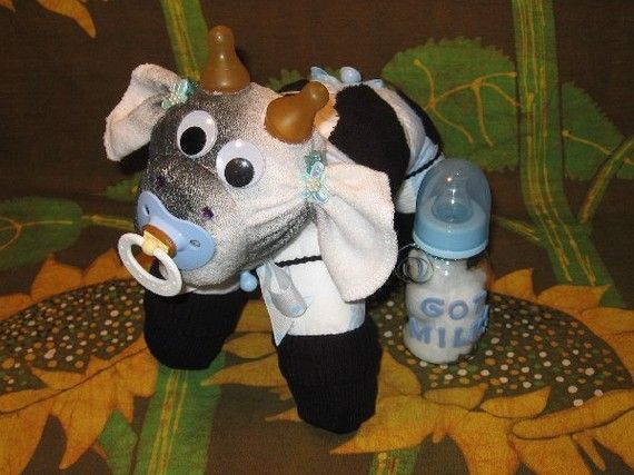 How To Make A Cow From Diapers Diaper Tutorial Keepsake
