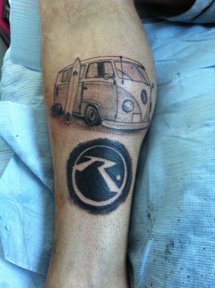 VW Camper Tattoo | Tattoos | Pinterest | Vw, Tattoo and Tattoo
