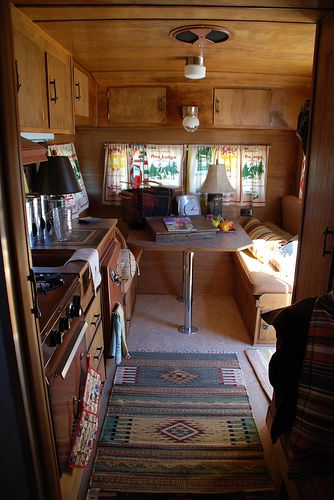 1960 Yellowstone Vintage Trailer | by Montana Camps and Cabins