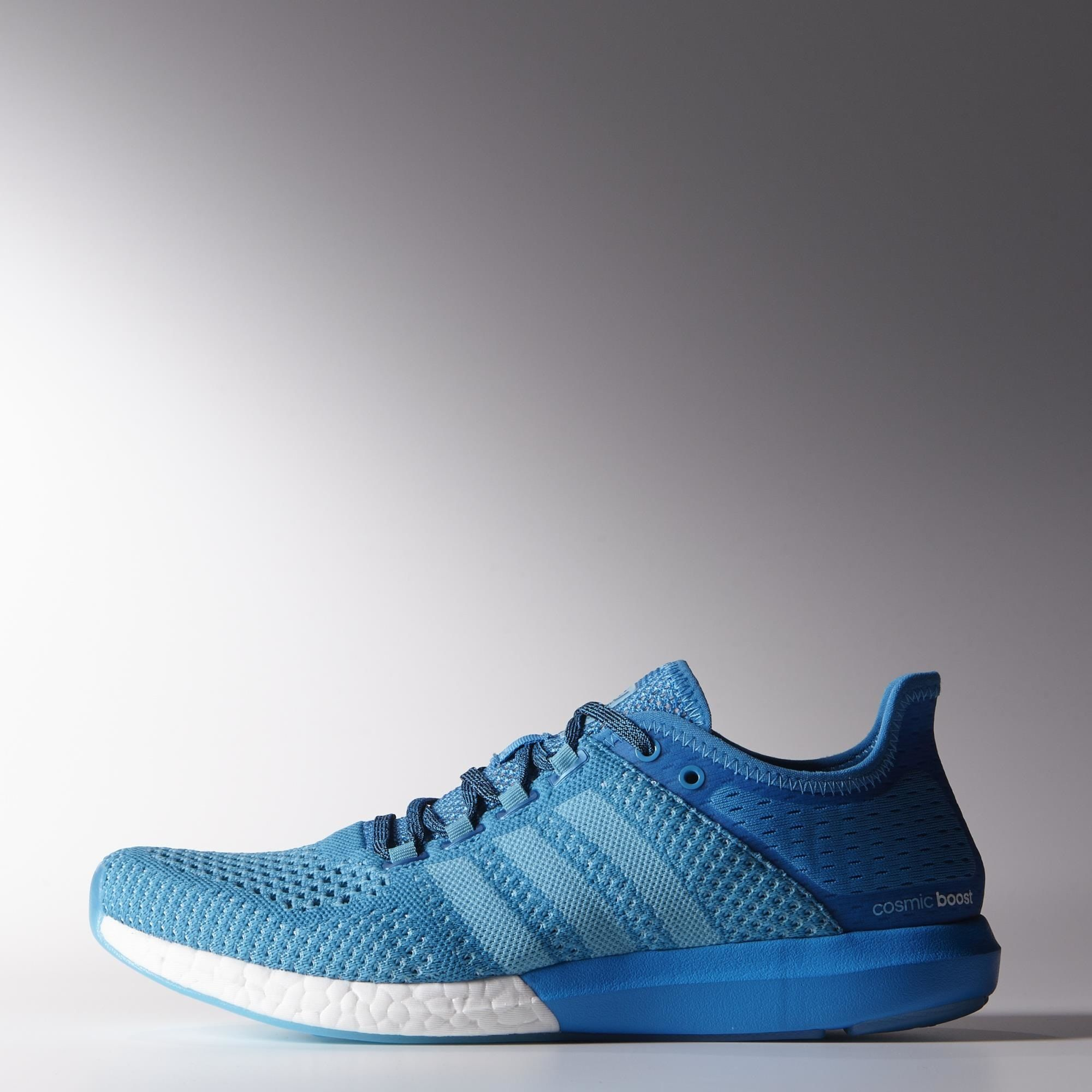 adidas Climachill Cosmic Boost Shoes Solar Blue  Solar Blue  Black  B44080