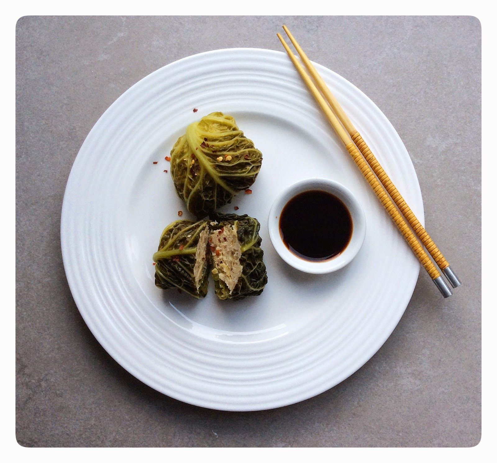 Imperfectly Paleo: Steamed Chinese Cabbage Parcels