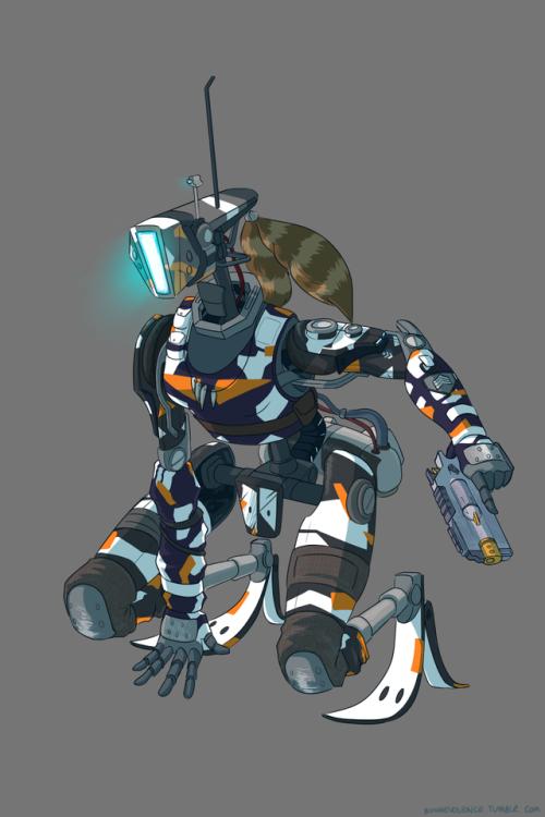 bunni stuff | Titanfall, Warframe art, Robots drawing