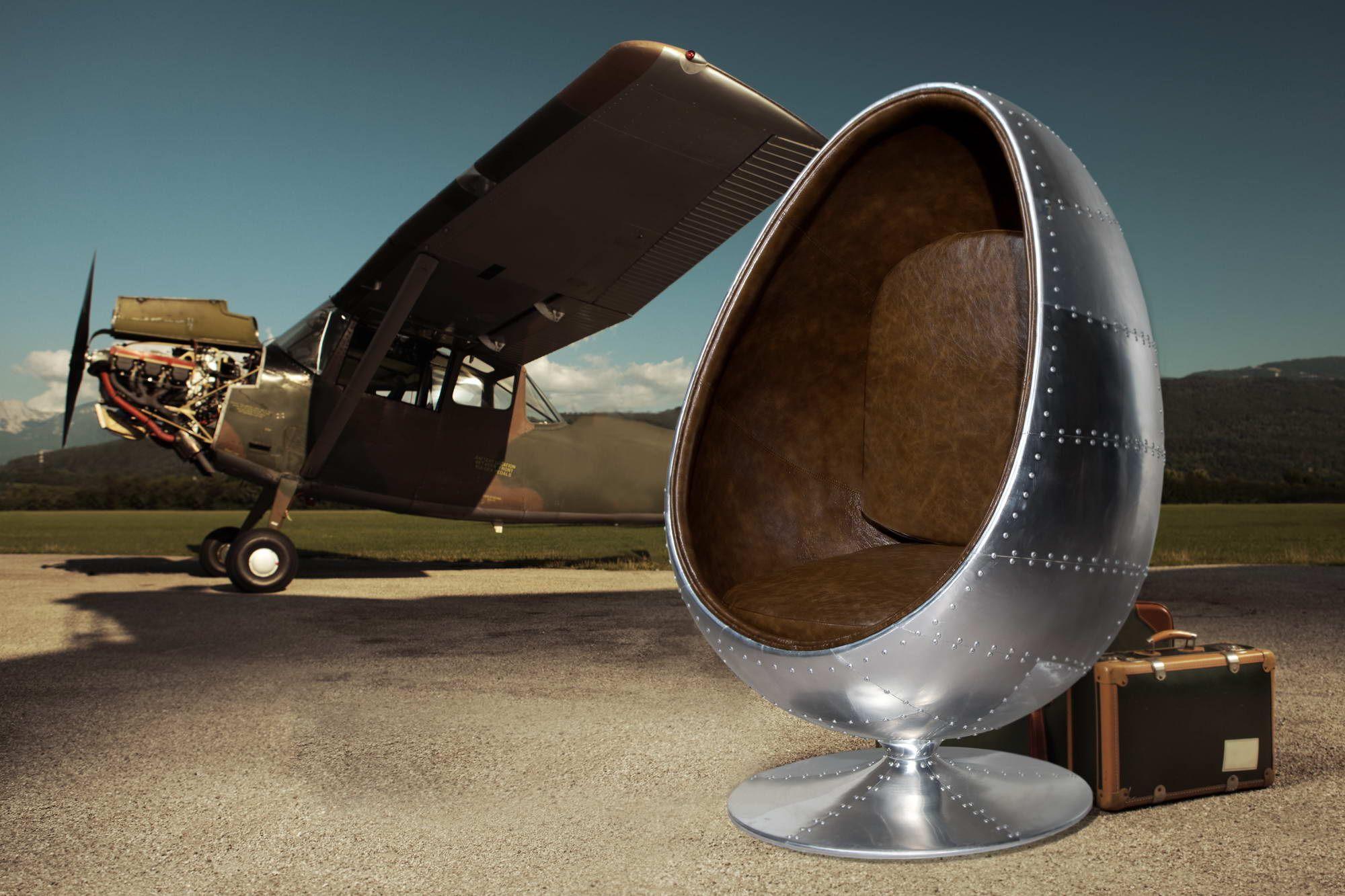 Najpredávanejšie produkty : Kreslo Space Egg silver