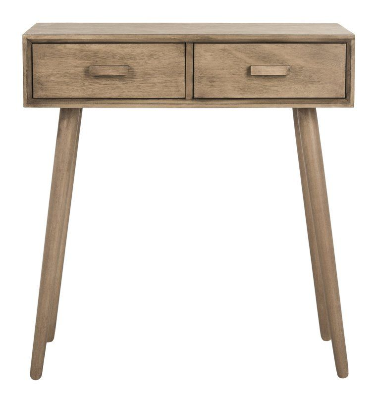 Crepeau 2 Drawer Console Table Vanity Desk Console Table Furniture