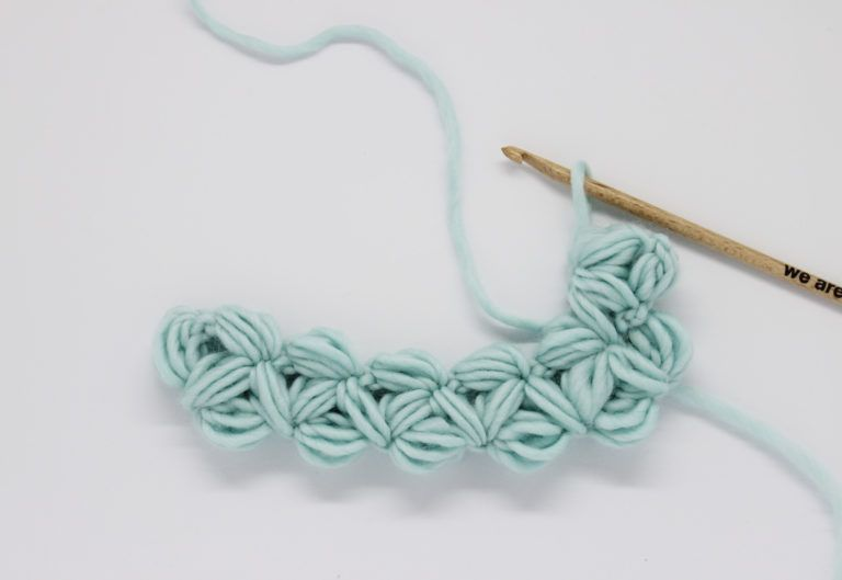 Cómo tejer punto jazmín | puntos | Pinterest | Tejidos, Puntos y Croché