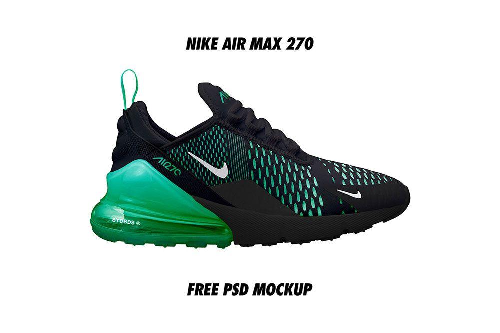 Nike Air VaporMax+ Mockup Free Resource Freebie Supply