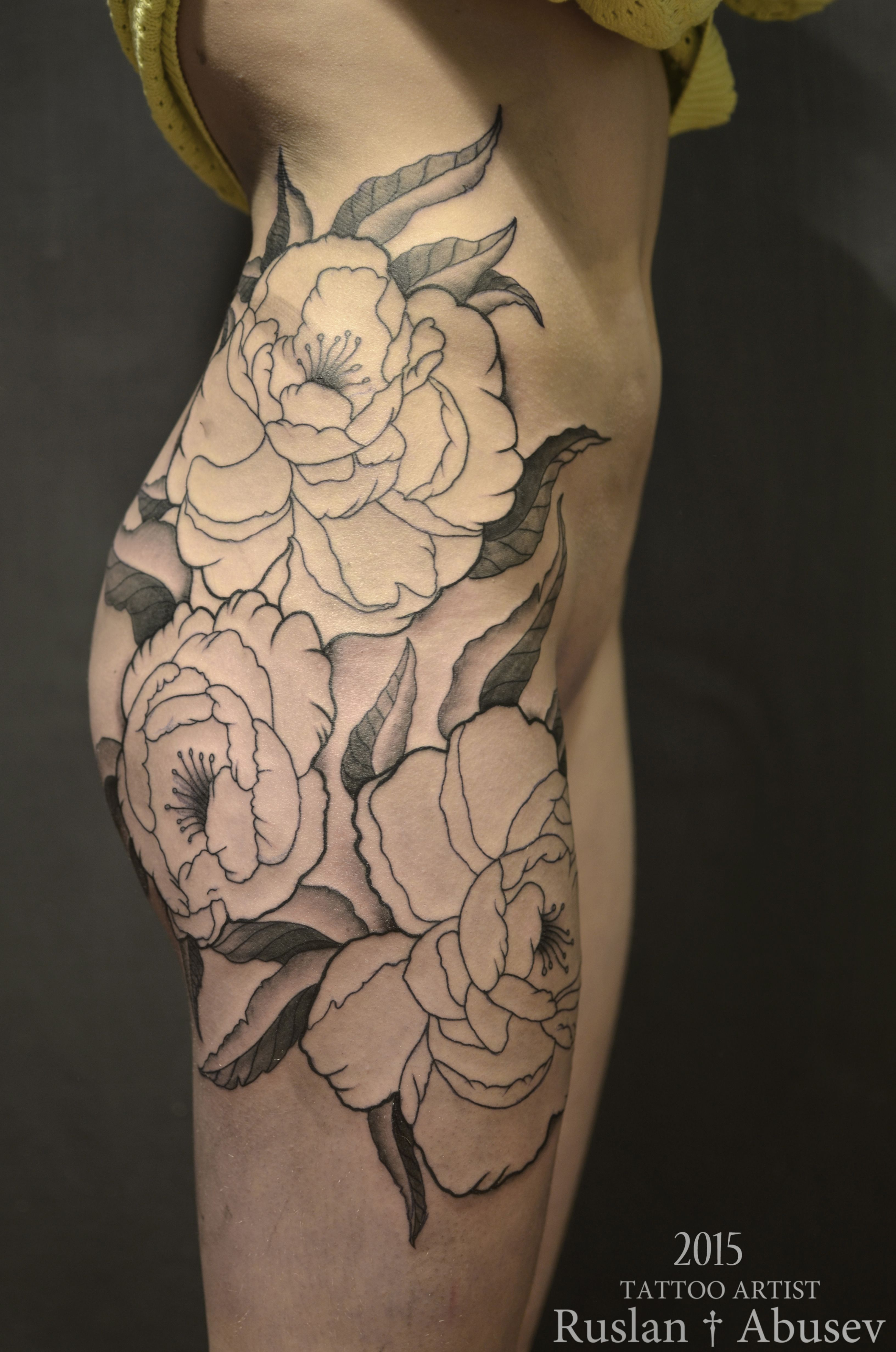 Pin lovi poe for tattoo pictures to pin on pinterest on pinterest - Peonies Tattoo