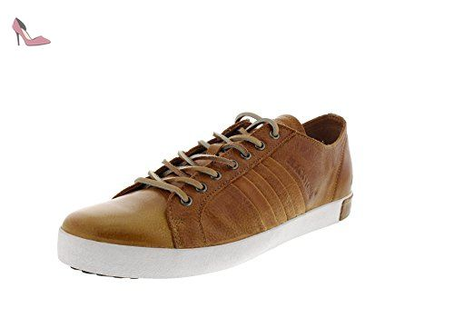 Worker On Foxing GM06, Sneakers Hautes homme, Marron (Old Yellow), 44 EUBlackstone