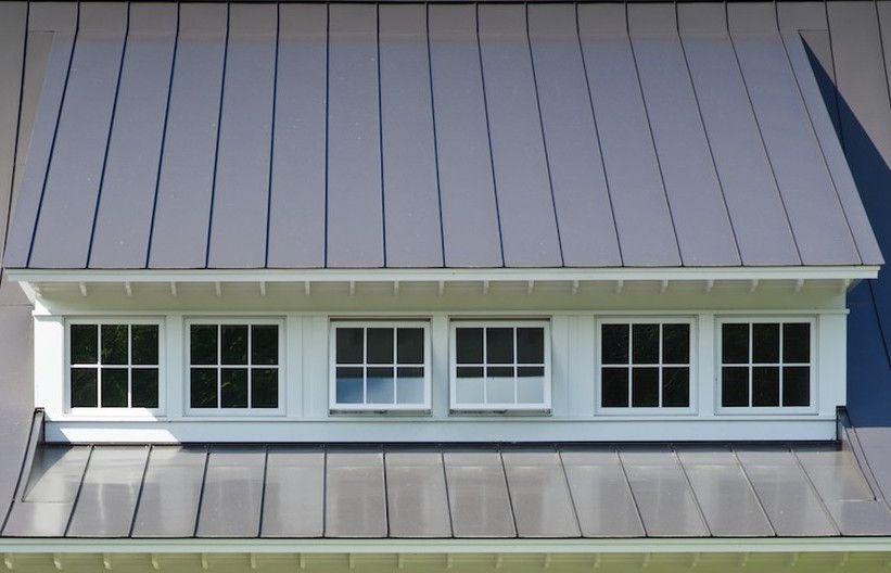 Dormer Window With Lead Cheeks And Slate Roof Garage Doors Modern Garage Doors Garage Door Installation