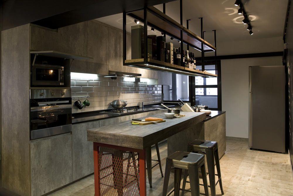 20 Pretty Outstanding Hdb Designs Industrial Kitchen Design Open Concept Kitchen Kitchen Design Small