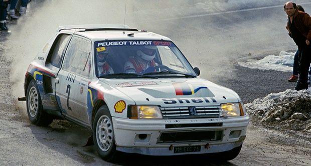 1984 Peugeot 205 - Turbo 16 Evolution 1 Group B