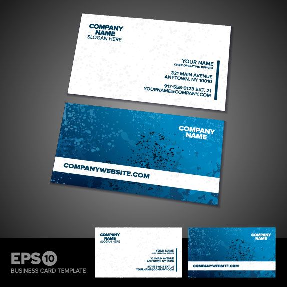 Hasil gambar untuk business card template vector free download - free sample business cards templates