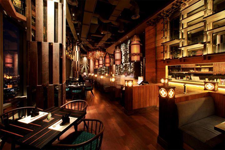 Enmaru Japanese Fine Dining Restaurant By Metaphor Jakarta Indonesia Retail Design Blog