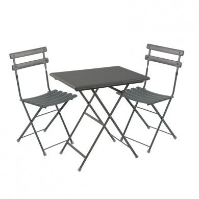 Table Arc En Ciel Pliante Pack 1 Table 2 Chaises Fer Ancien Table Pliante Chaise Pliante Set De Table