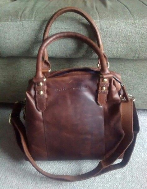 Mercer Madison Brown Leather Bag Lush