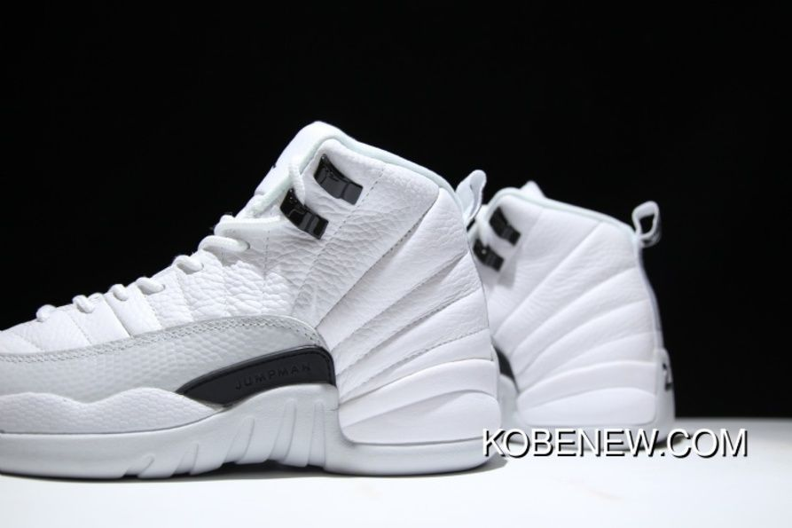 online retailer e16e1 9378d Air Jordan 12 Retro GS White Black-Wolf Grey 510815-108 Discount