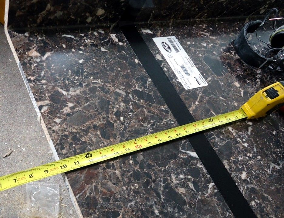 This Article Details How To Install Laminate Countertop Sheets Over Existing Laminate