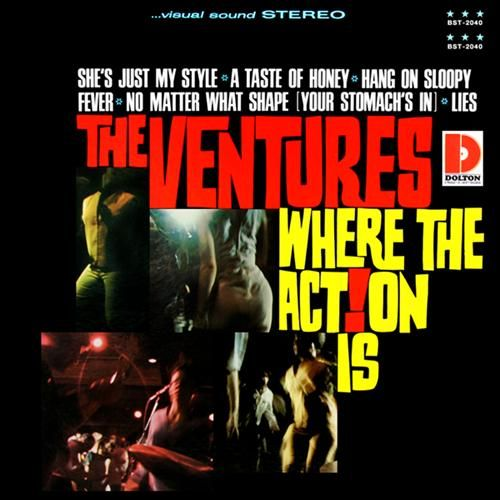 The Ventures Quot Where The Action Is Quot Rock And Roll Album