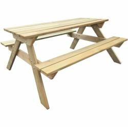 Picknicktisch Aus Massivholzwayfair De Picknicktisch