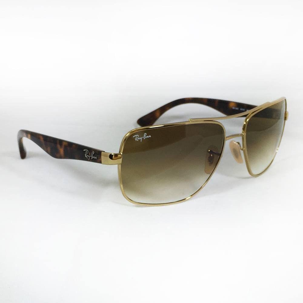 #OtticaCillo #RayBan RB3483 001/51 60-16  Gli occhiali da sole Ray-Ban ® RB3483 si caratterizzano per un design inconfondibile, con il classico ciliare metallico con doppio ponte a sostenere la montatura metallica squadrata oversize. Le aste in plastica creano un look senza tempo arricchito dall'intramontabile qualità Ray-Ban. Su otticacillo.com