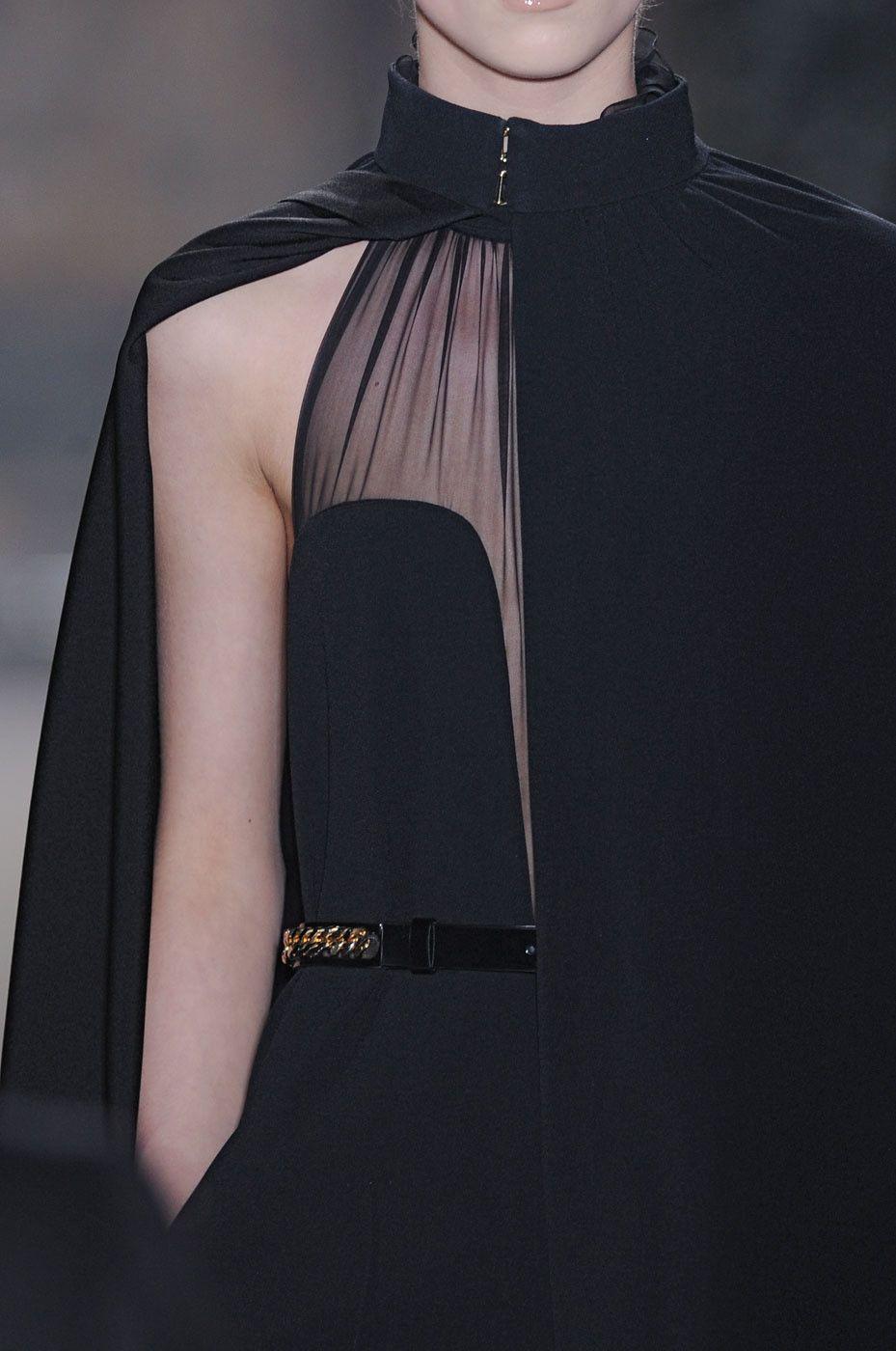 Details at yves saint laurent u haute couture clothes pinteu