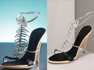 Fish shoes from sex and the city