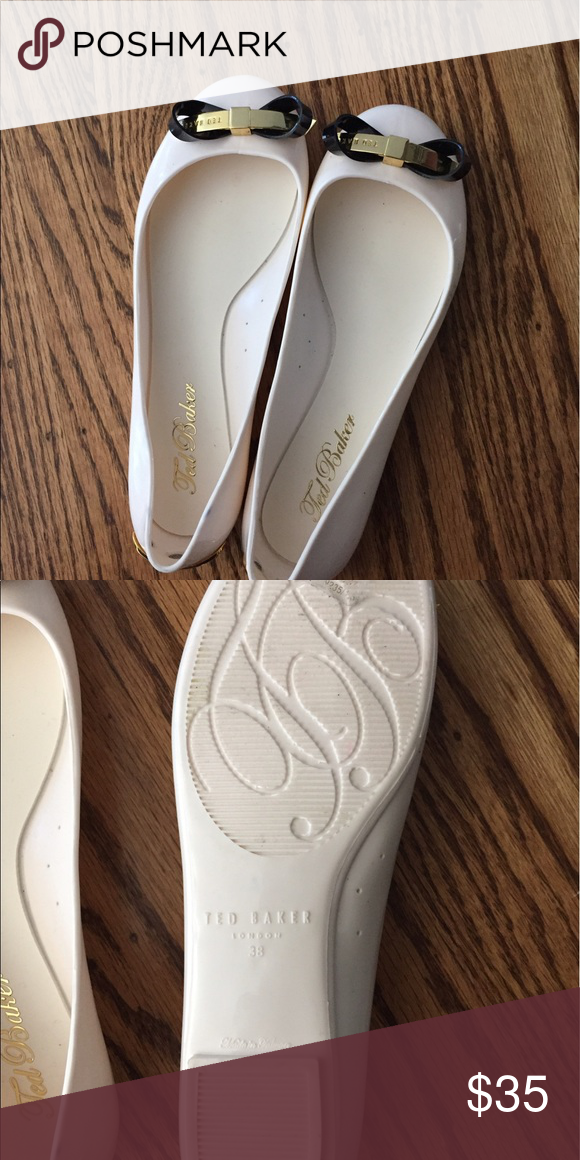 f30c0e6c5 Ted Baker Jelly Shoes Cute worn once inside! Size 7 Please note shoes have  a couple of spots that won t come off hence the price on these shoes. Ted  Baker ...