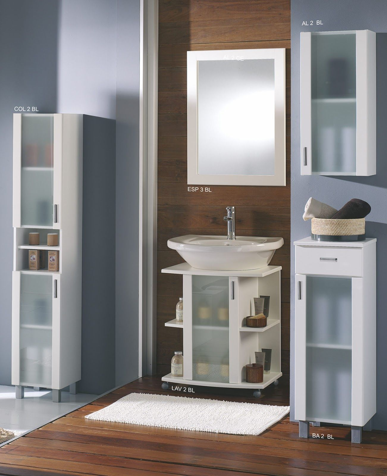 mueble baño barato bajo lavabo blanco oferta | muebles de baño de