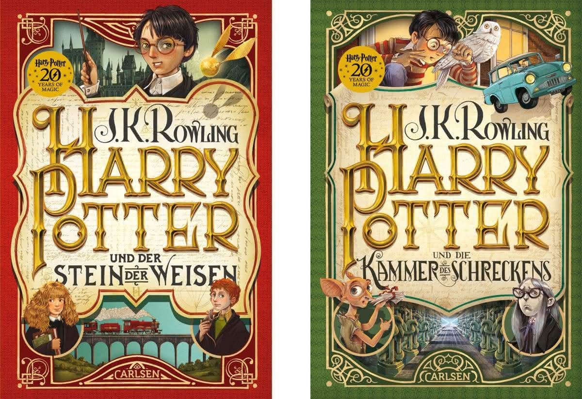 Harry Potter Neuausgaben Kinderbucher Bilderbuch Harry Potter Band