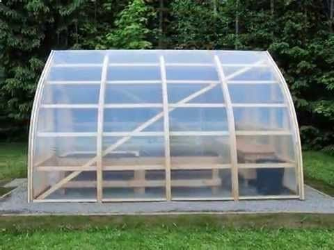 Bow Shed Greenhouse Construction - YouTube BUILD A SHED, BUILD SHED