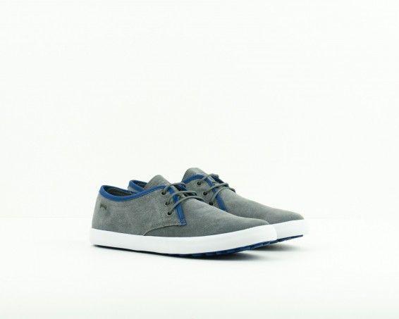 Zapato Camper gris   Moksín Colección Primavera Verano