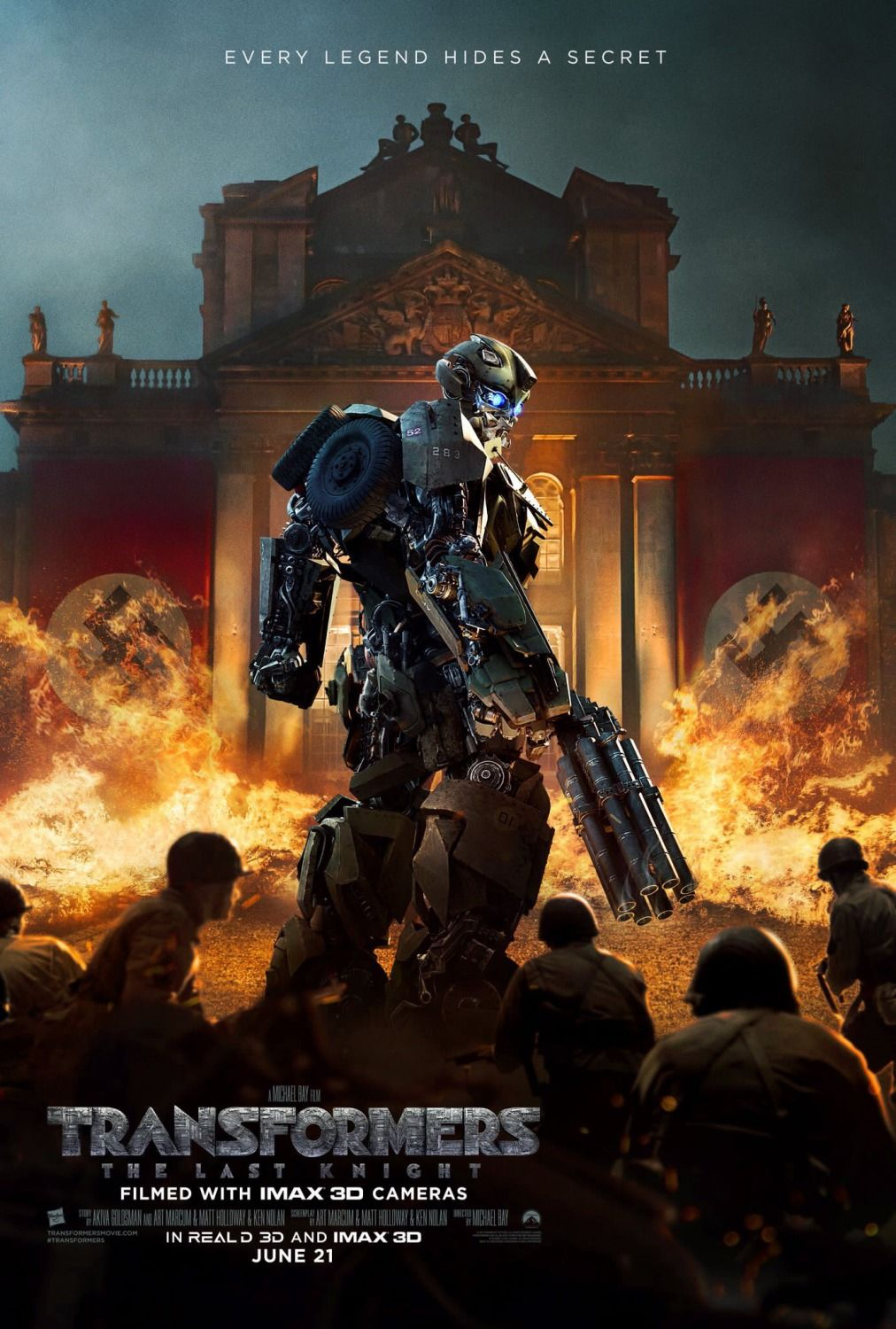 return to the main poster page for transformers: the last knight (#7