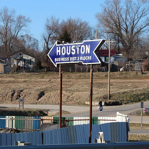 Elevation Map Houston