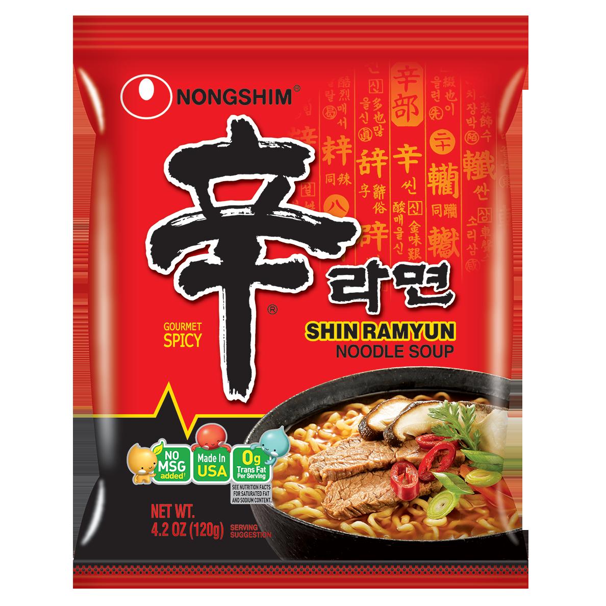 Amazon.com : Nongshim Shin Ramyun Noodle Soup, Gourmet