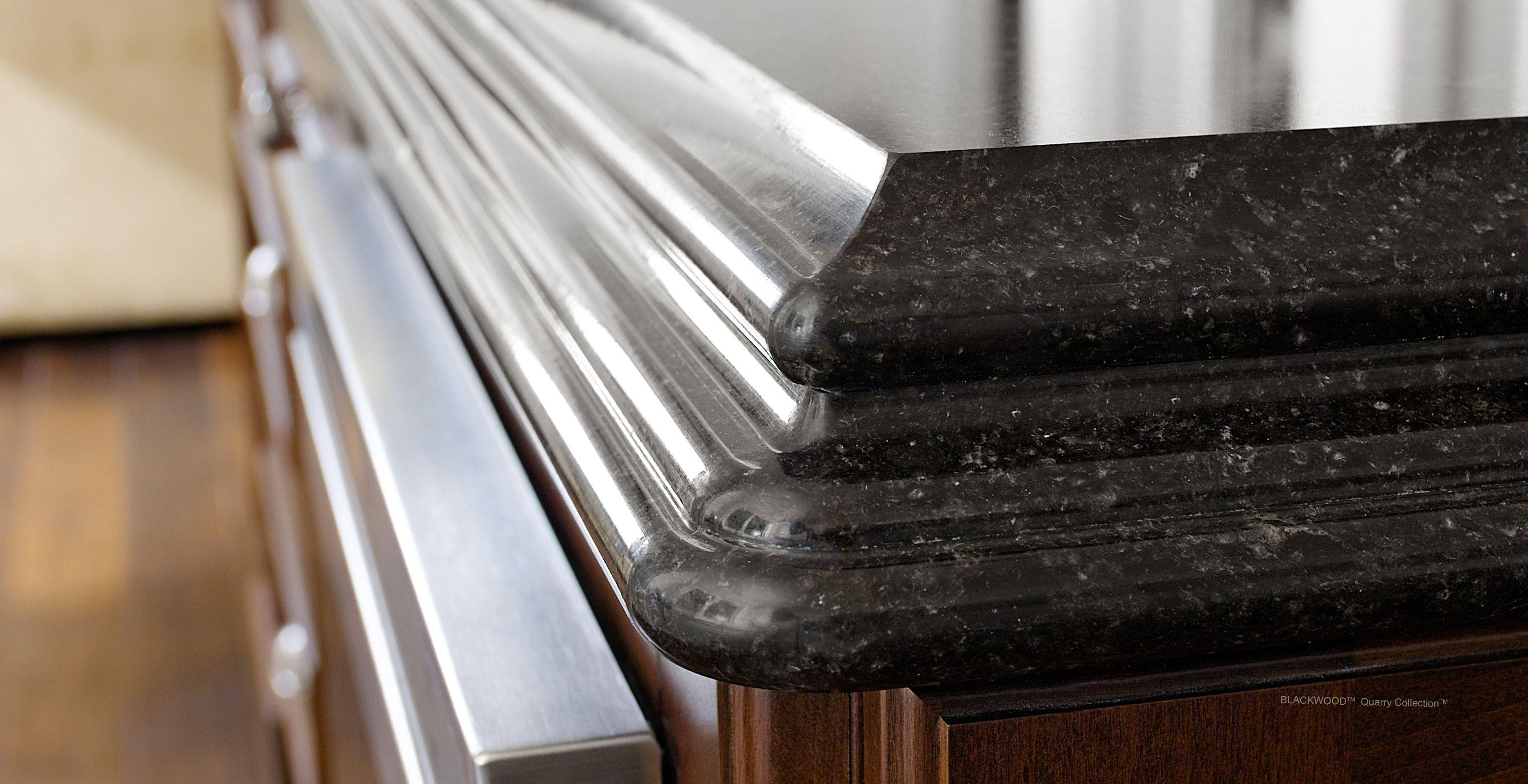 Cambria Quartz Waterfall Edge Profile Engineered Quartz