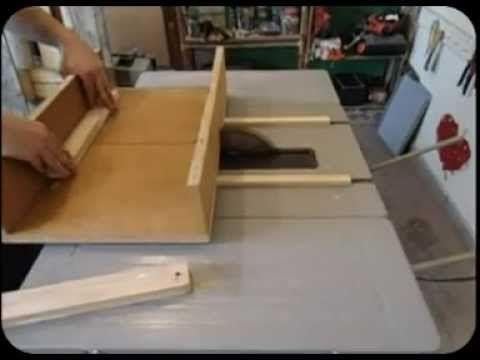C mo hacer una gu a de corte de sierra de mesa how to - Sierra de banco ...