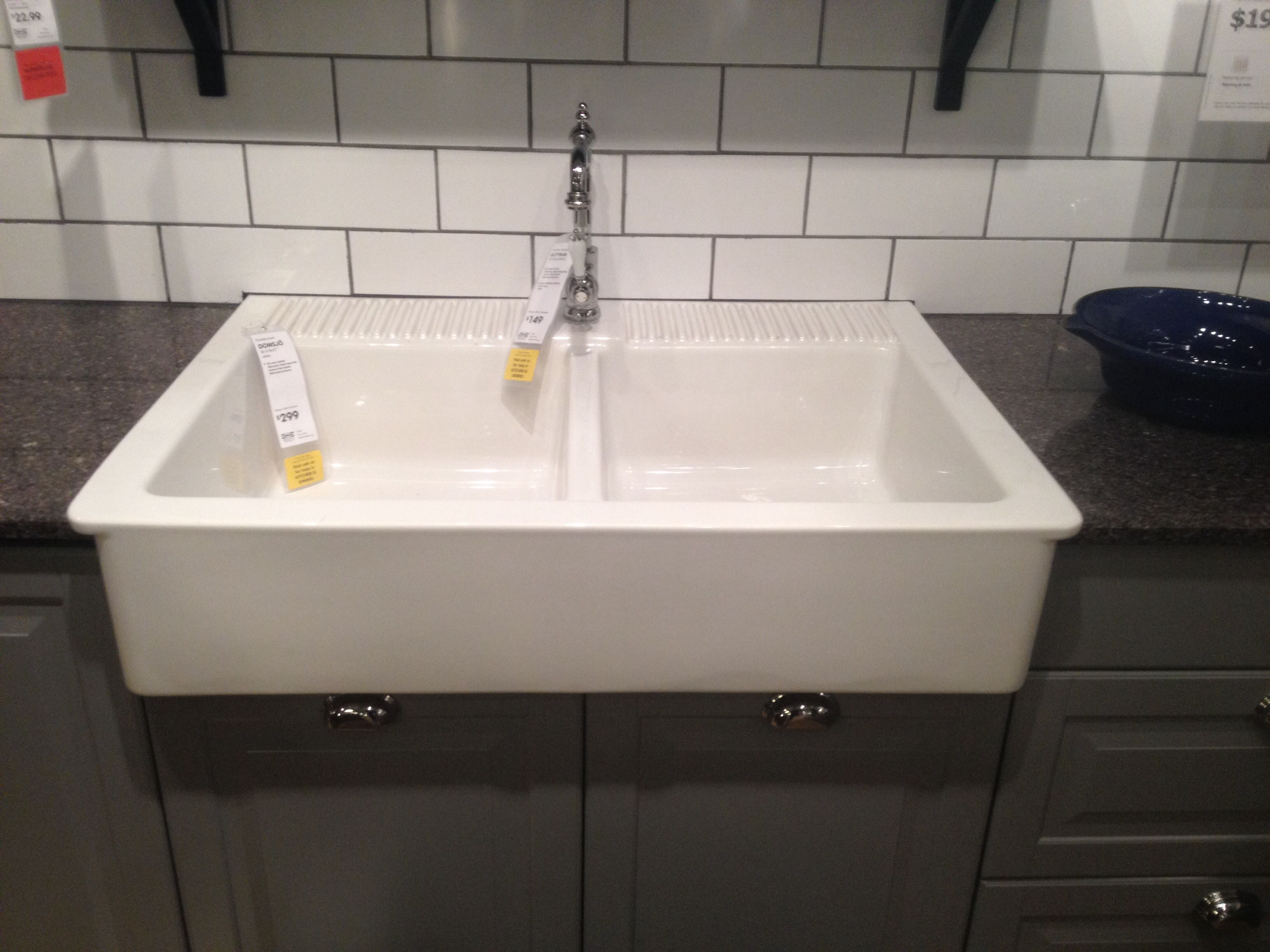 Farm kitchen sink from ikea Ikea kitchen sink, Ikea