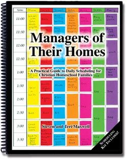 Managers Of Their Homes Scheduling For Homeschooling Families