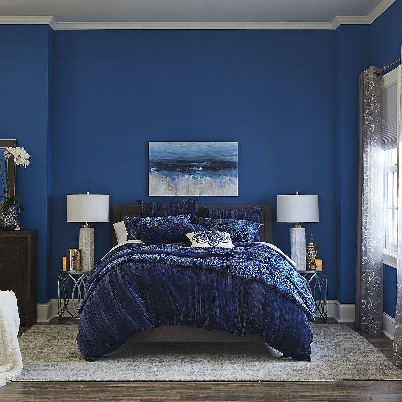 JCPenney Home Crushed Velvet 3-pc. Comforter Set