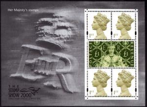 Stamp: Queen Elizabeth II - Millenium Machin & Coronation