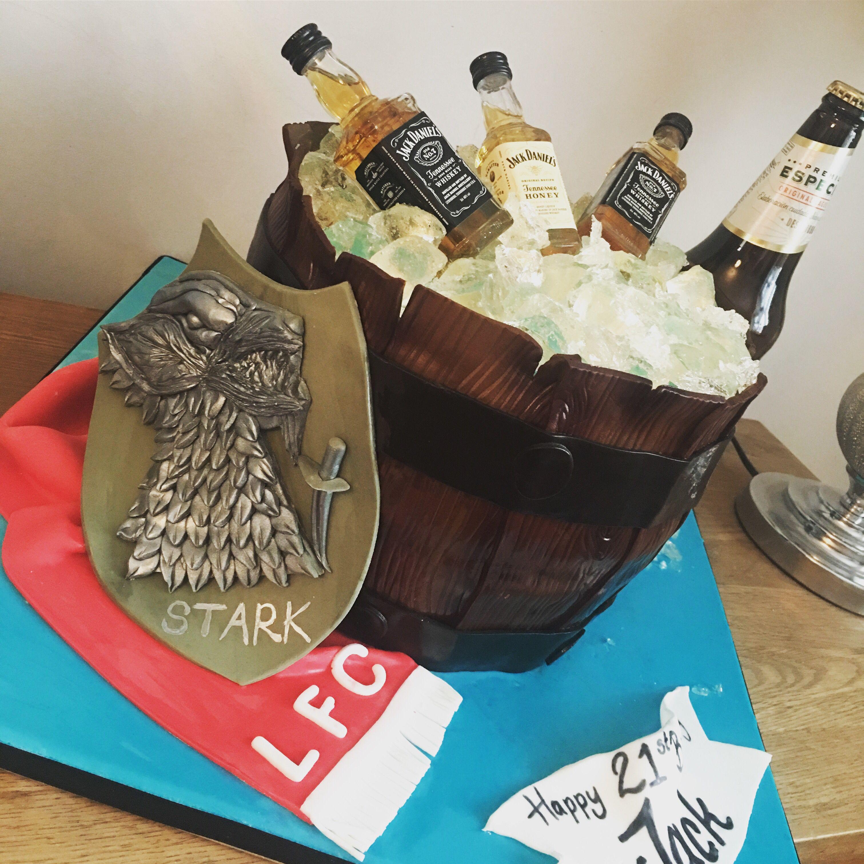 Jack daniels barrel cake barrel cake cake birthday cake