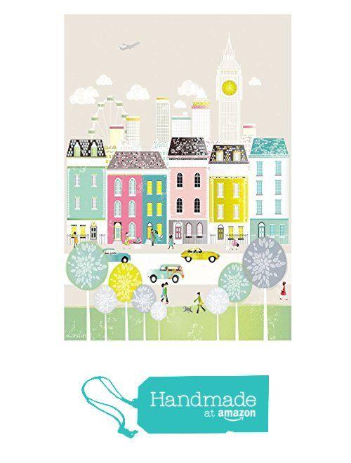 London drucken kunstdruck, Big Ben, Drucke von London, Wandkunst. Erhältlich in A4, A3, A2 Papiergrößen von der Laura Amiss Design https://www.amazon.de/dp/B01KU5EKOG/ref=hnd_sw_r_pi_dp_pdP9xbBN6TBBB #handmadeatamazon