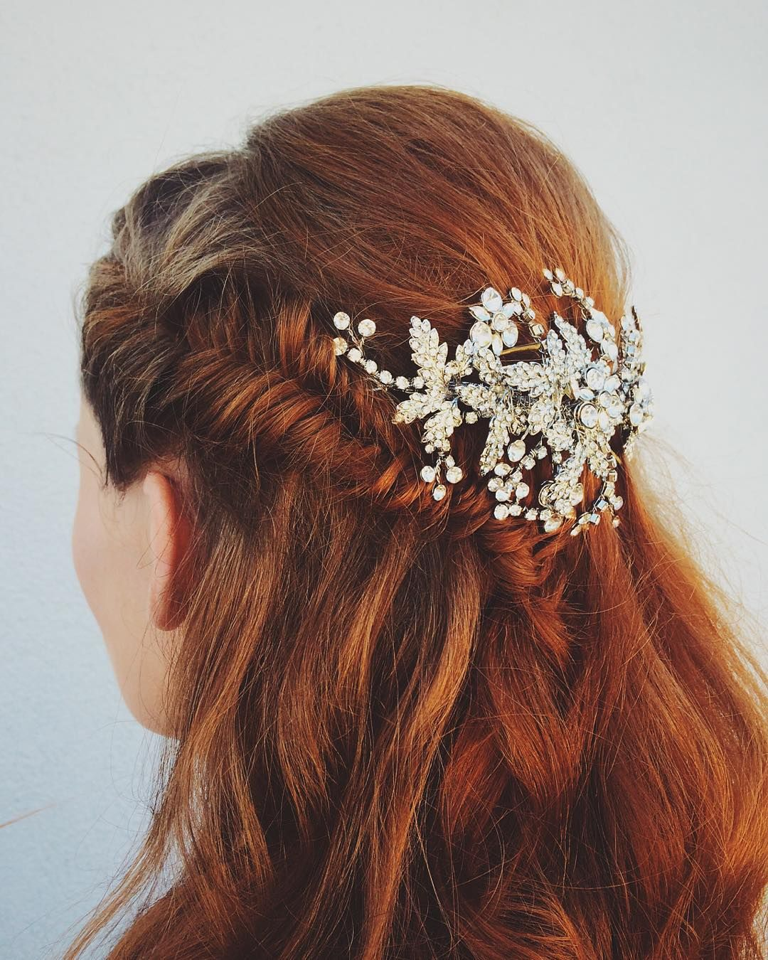 Wedding Entourage Hairstyle: Jen's Trial. #mobilebridalsalon #makeupandhair #married