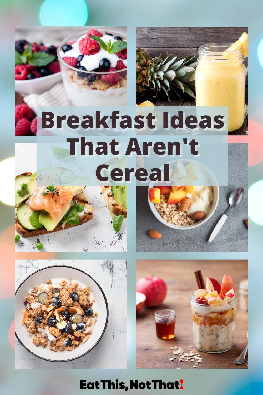 Healthy Breakfast Ideas Using 5 Ingredients Eat This Not That In 2021 Healthy Breakfast Breakfast Easy Breakfast