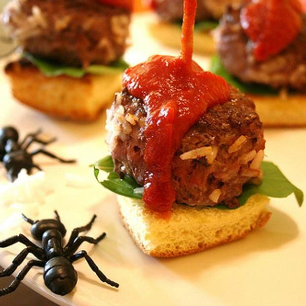 Recipes from Foodily Scary Food Ideas Pinterest - spooky food ideas for halloween