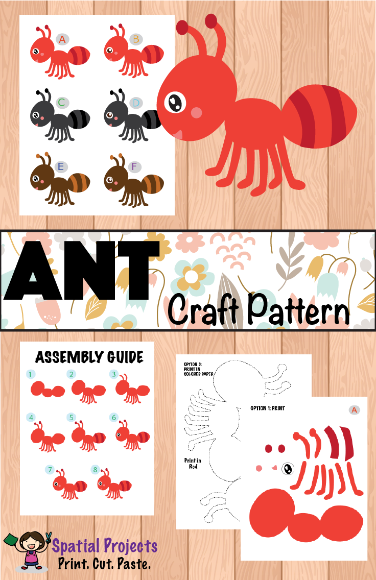Ant Bug And Insect Inquiry Based Learning Includes Ant Lapbook Making Guide Ant Craft Pattern Ant Crafts Insects Theme Classroom Insects Theme Preschool [ 1136 x 736 Pixel ]