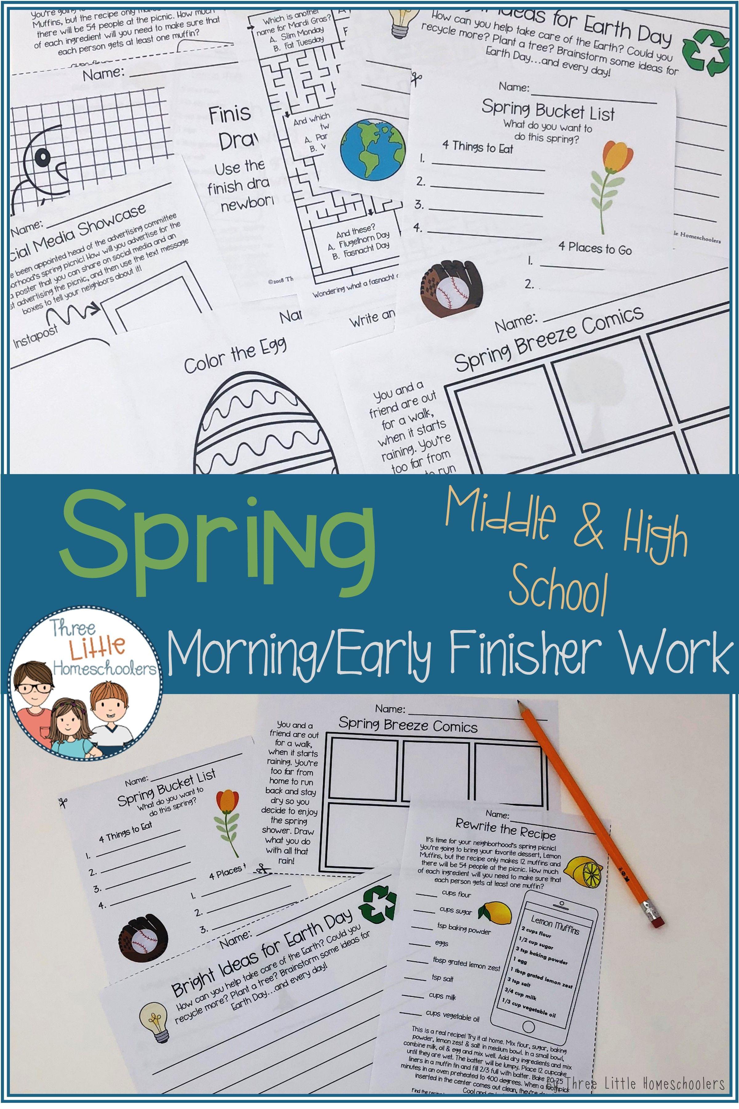 Spring Activities For Older Kids
