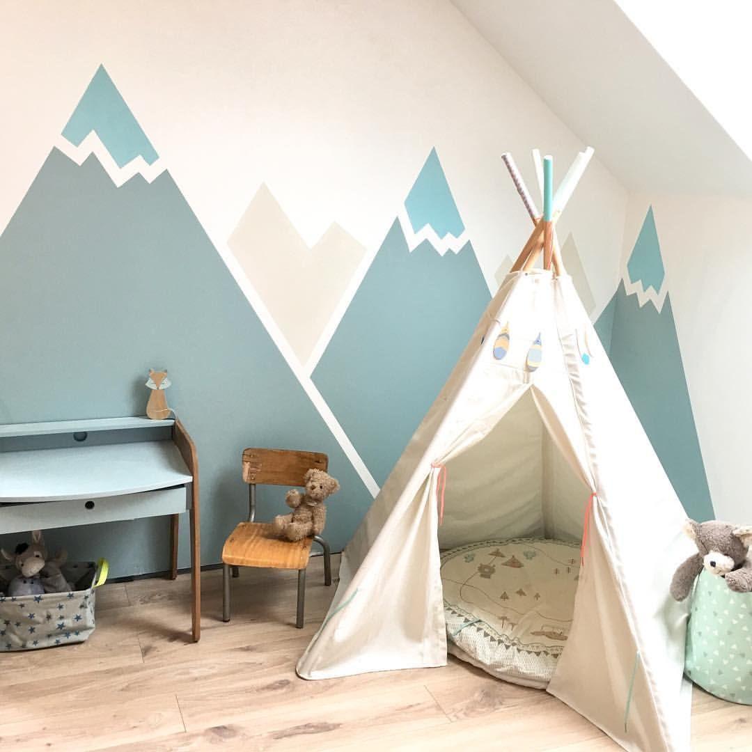 Auf Das Des Indianers Instagram Kinderzimmer Ideen Tipi Kleinen Zimmer Kinderschlafzimmer Kinder Zimmer Kinderzimmer