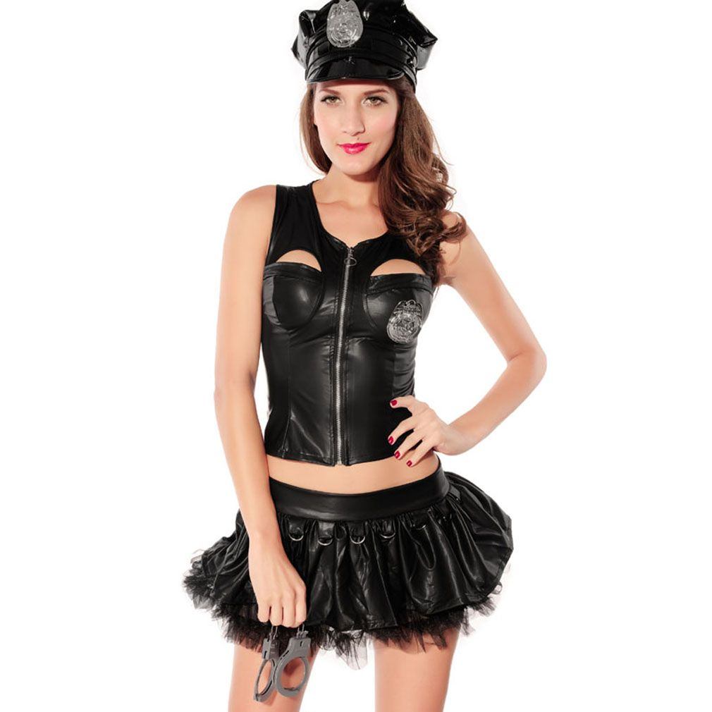 Olyer Sexy Police Uniform for Women Sexy Police Officer Cop Corset with Skirt  sc 1 st  Pinterest & Olyer Sexy Police Uniform for Women Sexy Police Officer Cop Corset ...